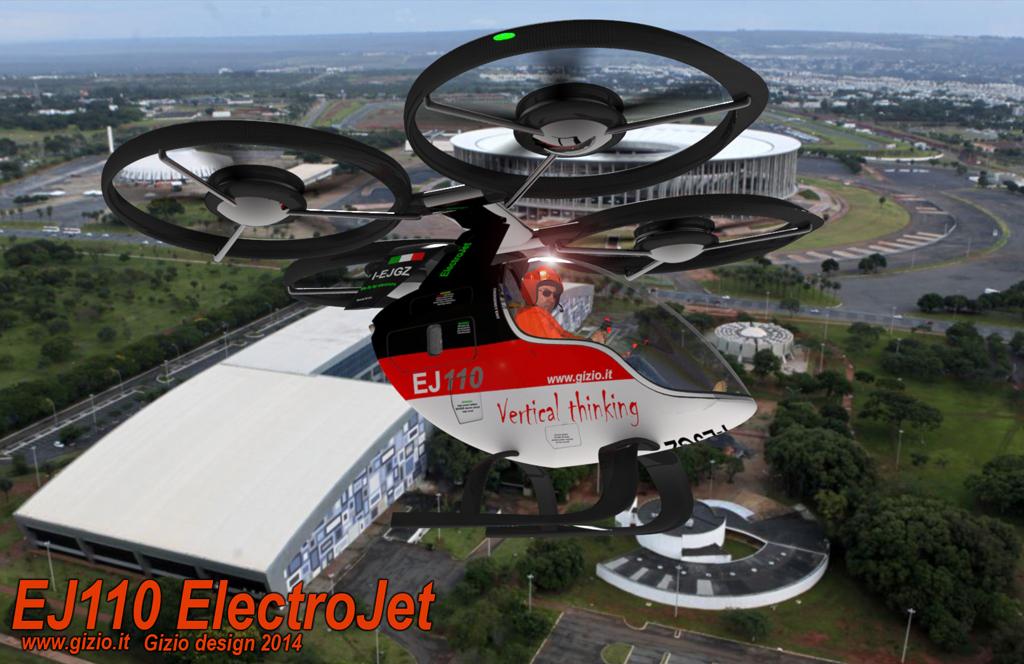Elicottero Monoposto : Ej ita